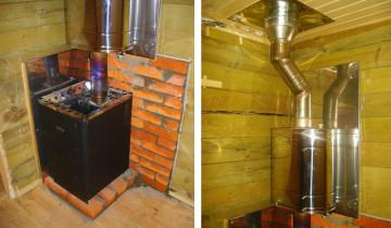 Печь в бане: финальная отделка и облицовка