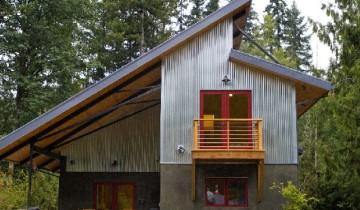 Отделка фасада частного дома: просто и недорого