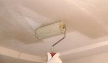 Потолок: оптимальный расход шпаклевки