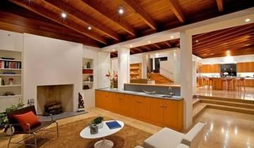 Дизайн дома и отделка деревом