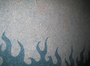 Изображение стены покрытой жидкими обоями, svarog-kazan.ru