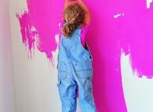 Процесс покраски стен краской, mygazeta.com