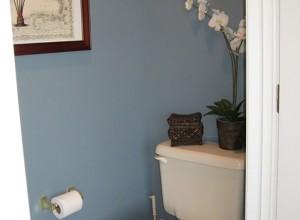 Фото отделки стен туалета краской, home-ideas.ru