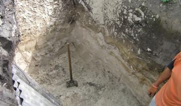 Фото ямы для септика из еврокуба, 7fh.ru