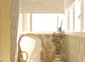 Дизайн лоджии 6 метров, inhomes.ru