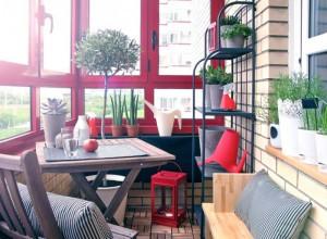 Фото домашнего кафе на лоджии, uutvdome.ru