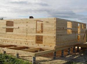Деревянный дом на свайном фундаменте, tabalenka.info