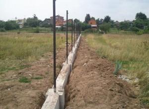 Фотография ленточного фундамента под кирпичный забор, 1pokirpichy.ru