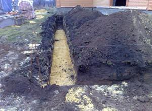 Изображение подушки под фундамент, pro-fundament.com