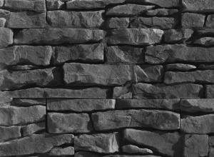 Бесшовная отделка стен под камень, kammit.ru