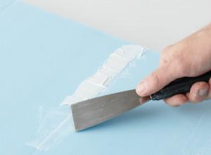 Нанесение латексной шпатлевки на гипсокартон, lowes.com