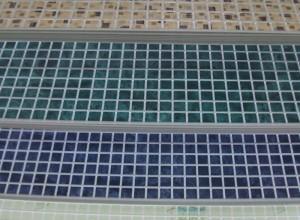 Изображение пластиковых панелей под мозаику