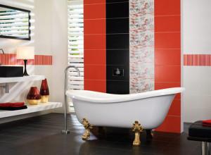 Яркие акценты в дизайне ванной, eto-vannaya.ru