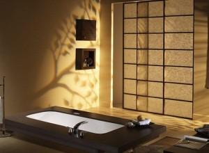 Изображение ванной в японском стиле, eto-vannaya.ru