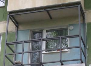 Изображение каркаса для застекления балкона, oknanagoda.com
