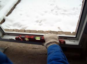 Выставление уровня рамы, stroyara.ru