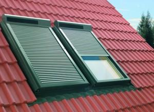 Изображение ролет на мансардных окнах, leon.zp.ua