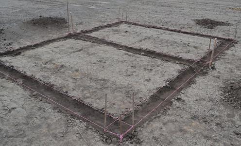 Фото обвязанных контуров, fundamentt.com