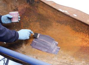 Нанесение грунтовки на металлическую поверхность, stevin.su