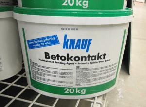 Грунтовка-бетоноконтакт Knauf, stroy-basis.ru