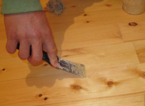 Шпаклевка деревянной поверхности, livemaster.ru