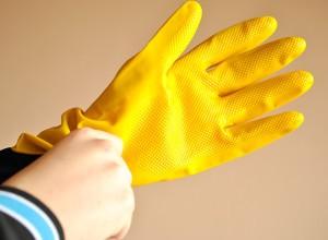 Перчатки резиновые для защиты кожи рук, cleanqueen.ru