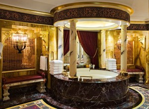 Изображение ванной в восточном стиле, interior-blog.ru..