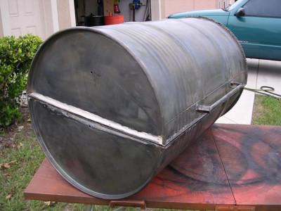 Фото разрезанной бочки, photobucket.com
