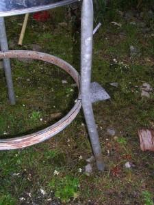Фотография ножек для мангала