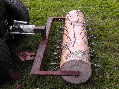 Садовый валик со спиральными накладками, junkwood.info