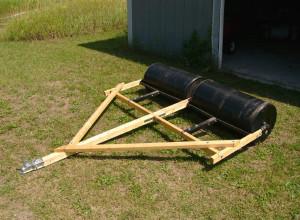 Изображение самодельного катка на деревянном каркасе, photobucket.com