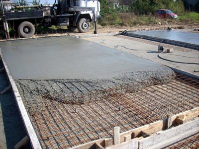 Фото заливки монолитного фундамента, buildmeplease.com
