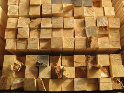 Изображение деревянного бруса, ruspromles.ru