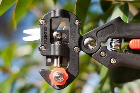 Фото профессионального прививочного секатора, grafting-tool.com