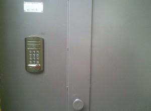 На фотографии домофон с блоком вызова, domofon-ukrvizit.com.ua