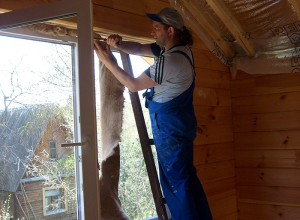 Установка фото в деревянном доме, aps-dsk.ru
