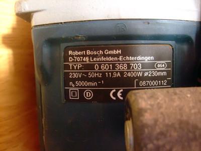 Фотография профессионального штробореза мощностью 2400Вт