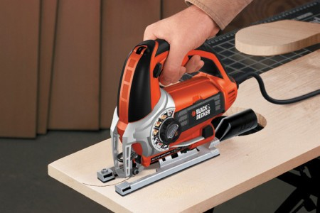 Эргономичная ручка электролобзика, blackanddecker.be