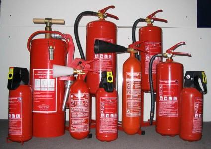 Фото разных видов огнетушителей, пожтехника-сервис.рф