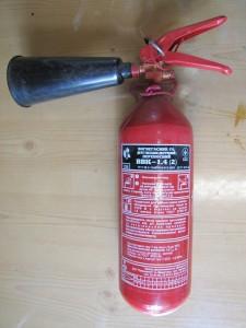 Фотография портативного газового огнетушителя, chemistry-chemists.com