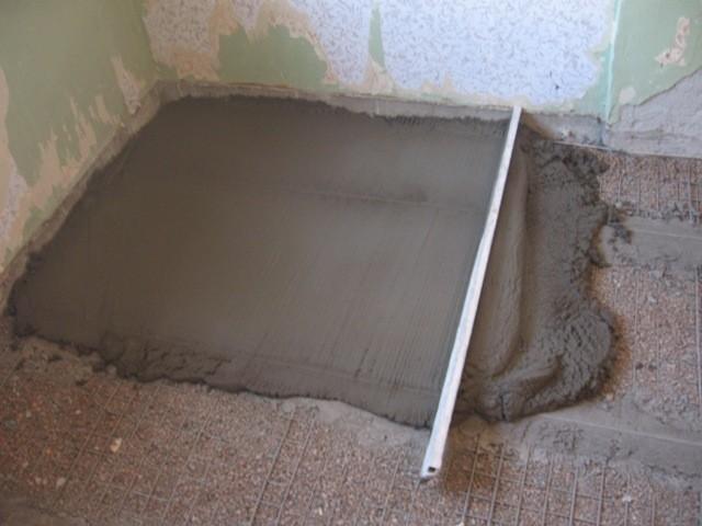 Выливаем бетон