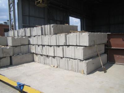 Бетонные блоки для фундамента, zhelezobeton.kz
