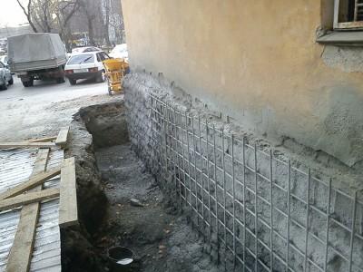 Ремонт фундамента старого дома, fundament-expert.ru