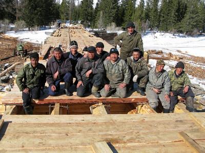 Фотография строительной бригады, dzhazator.ru