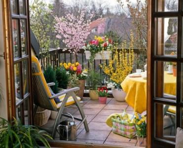 Правильно оформление балкона