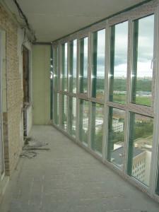 Окна во всю стену