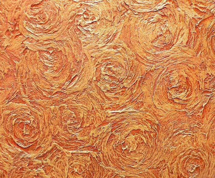 Фактурная венецианская штукатурка из шпаклевки