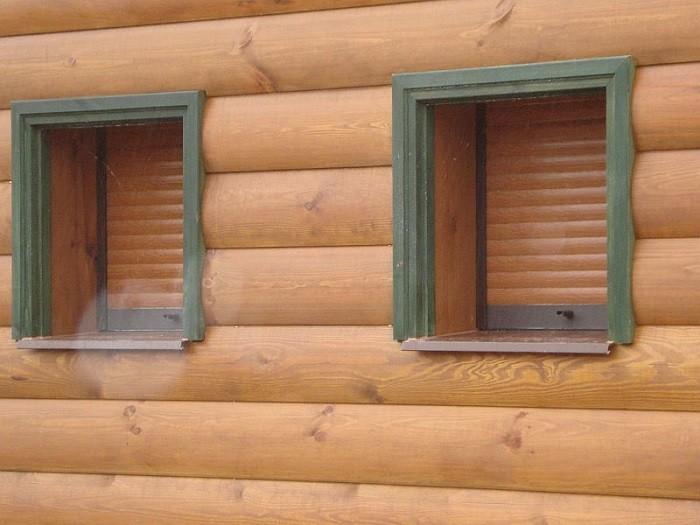 Фото деревянного блок хауса