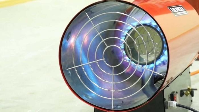Фото тепловой газовой пушки