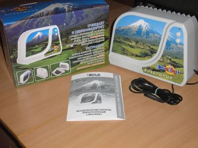 Фотография ионизатора воздуха Экозон